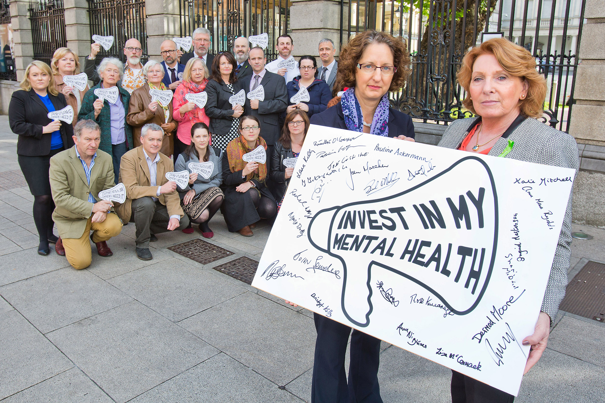 Mental Health Reform and Minister Kathleen Lynch