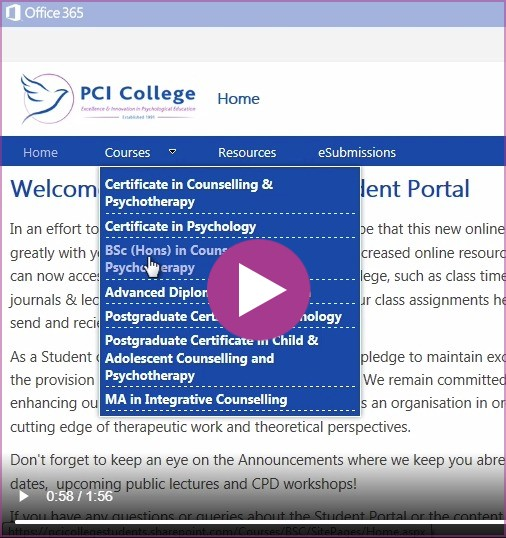 Logging On: Before you proceed and log onto the Portal please watch the 'How to Access the Portal' video below.  This will provide you with some familiarity to the Portal site and provide step by step guidelines on how to log on.