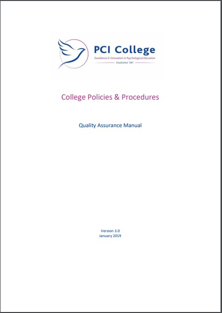 PCI College quality Manual