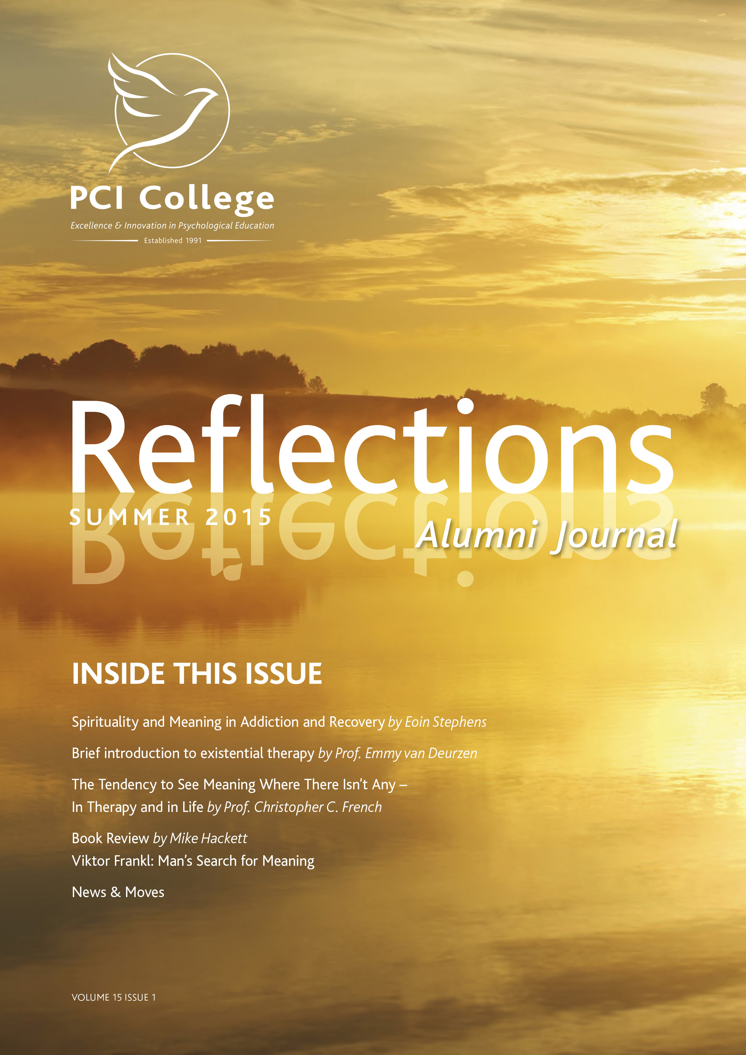 Reflections Cover 2015