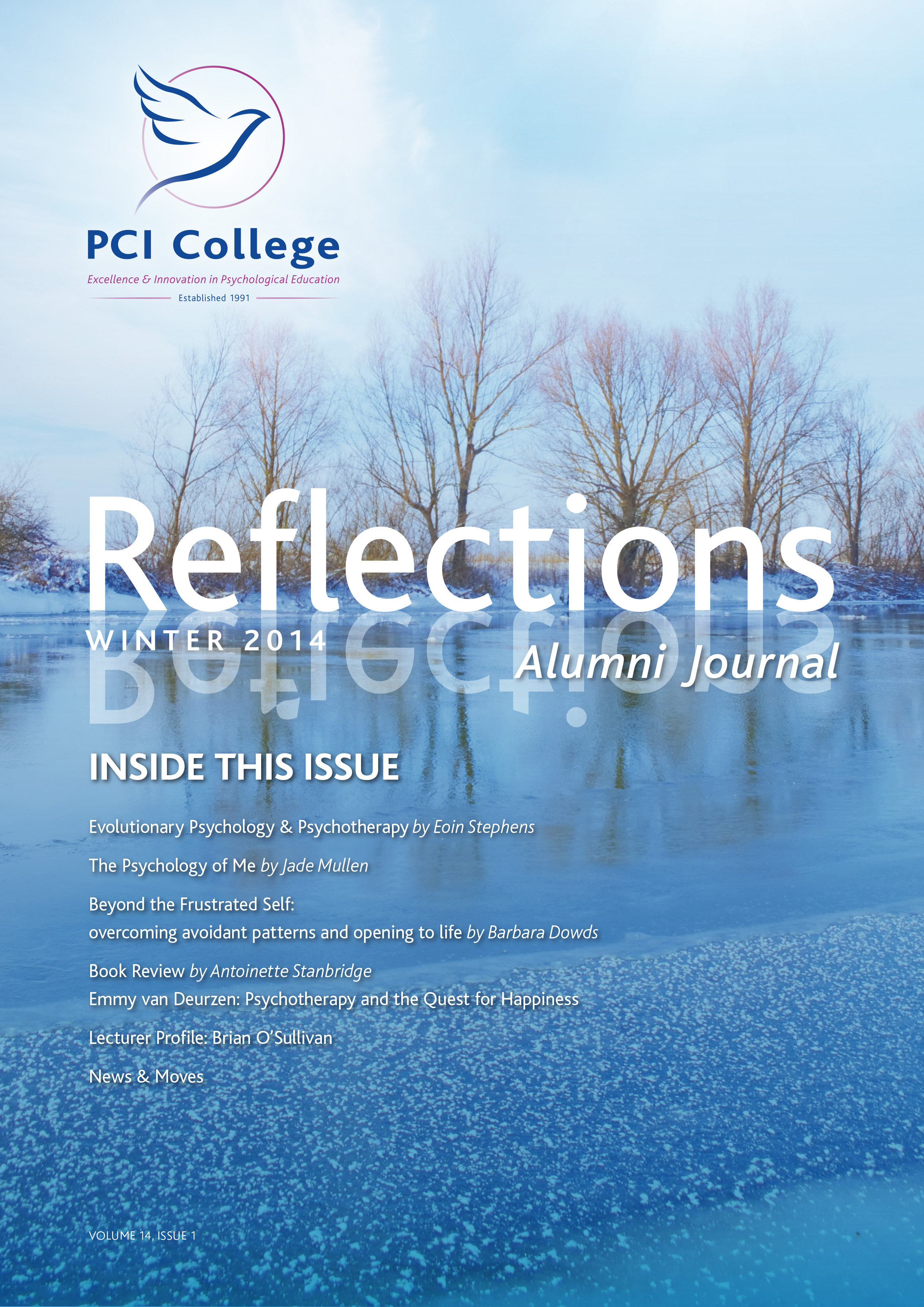 Cover of Reflections Journal Winter 2014